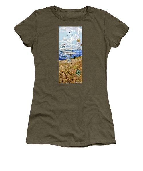 Captree Park Women's T-Shirt (Athletic Fit)