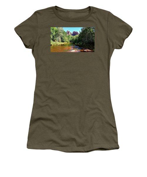 Cathedral Rock - Sedona, Arizona Women's T-Shirt
