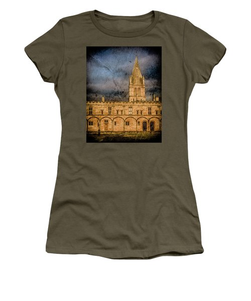 Oxford, England - Christ Church College Women's T-Shirt