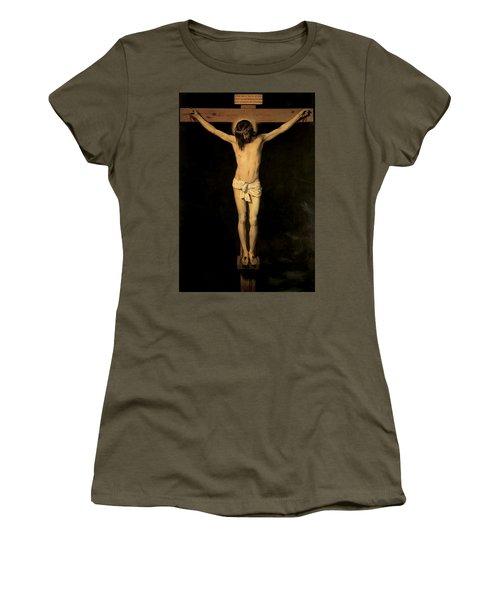 Christ On The Cross Women's T-Shirt