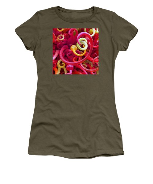 Close-up Of Art Glass By Dale Chihuly Women's T-Shirt