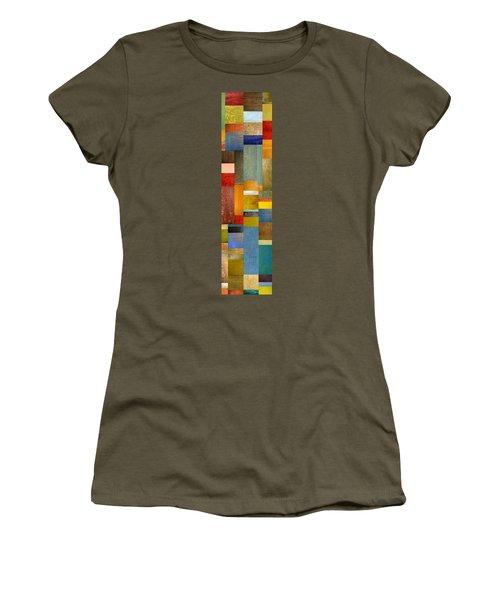 Color Panels With Blue Sky Women's T-Shirt