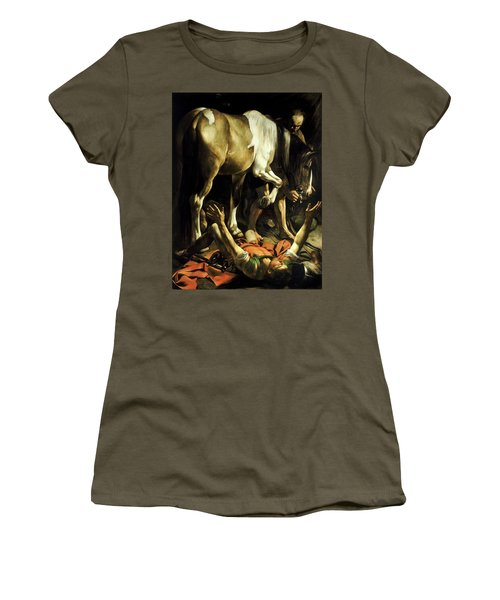 Conversion On The Way To Damascus Women's T-Shirt