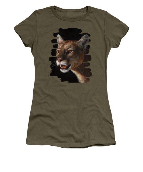 Cougar Women's T-Shirt (Athletic Fit)