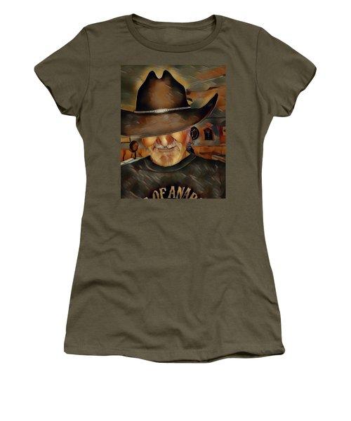 Cowboy Women's T-Shirt (Athletic Fit)