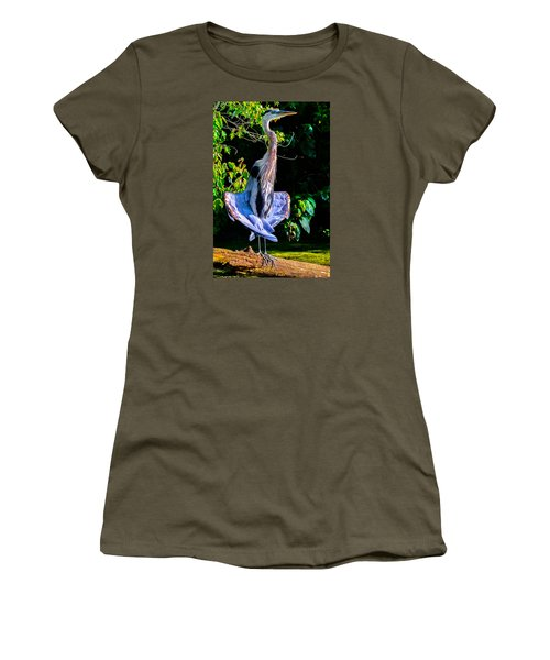 Women's T-Shirt (Junior Cut) featuring the photograph Crazy From The Heat 2 by Brian Stevens