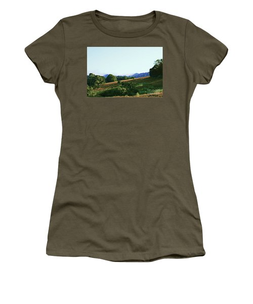 Creator's Sky Painting Women's T-Shirt (Athletic Fit)