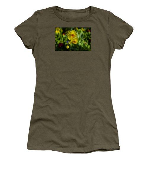 Daffodils Women's T-Shirt (Junior Cut) by Dan Hefle