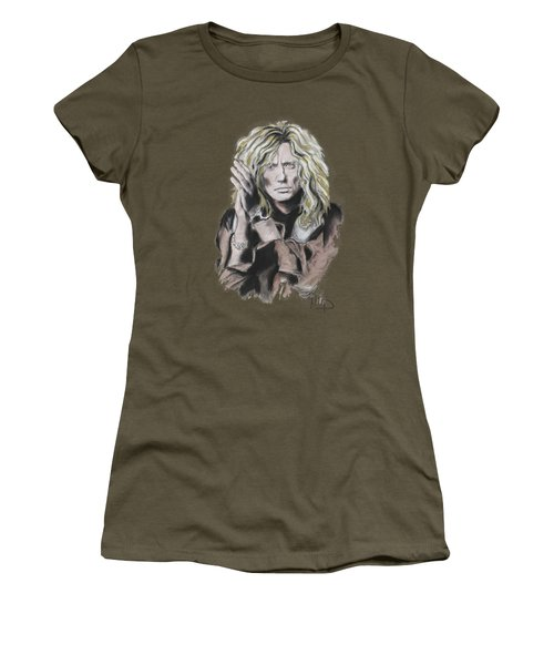 David Coverdale Women's T-Shirt (Junior Cut) by Melanie D
