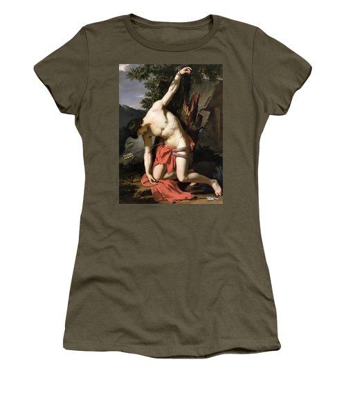 Death Of Saint Sebasian Women's T-Shirt