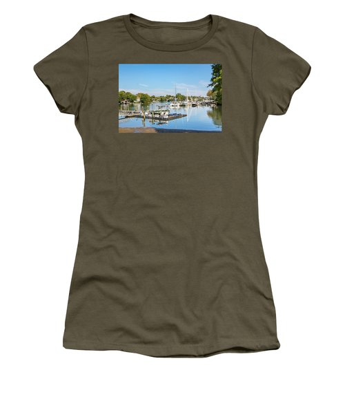 Early Fall Day On Spa Creek Women's T-Shirt
