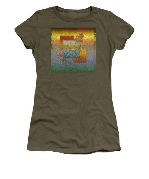 Early Morning In Boreal Forest Women's T-Shirt