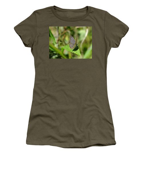 Eastern Tailed Blue Butterfly Women's T-Shirt (Athletic Fit)