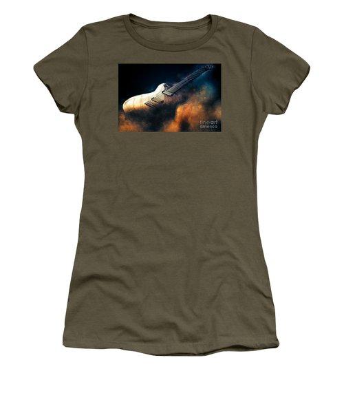 Electric Guitar Art Women's T-Shirt