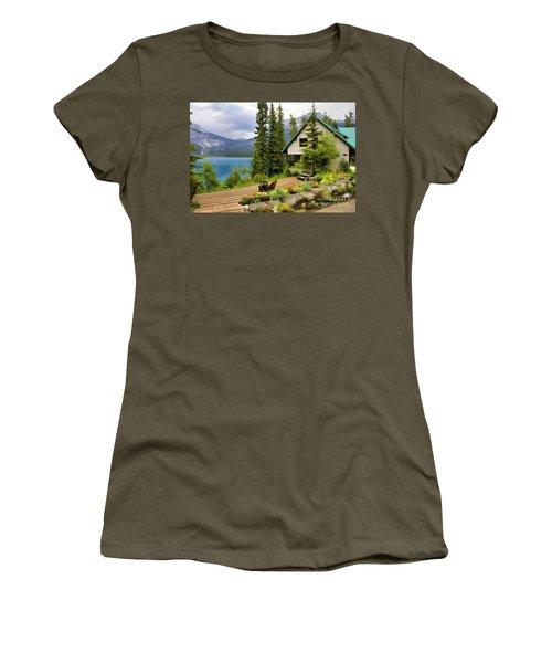 Emerald Lake Yoho National Park Women's T-Shirt