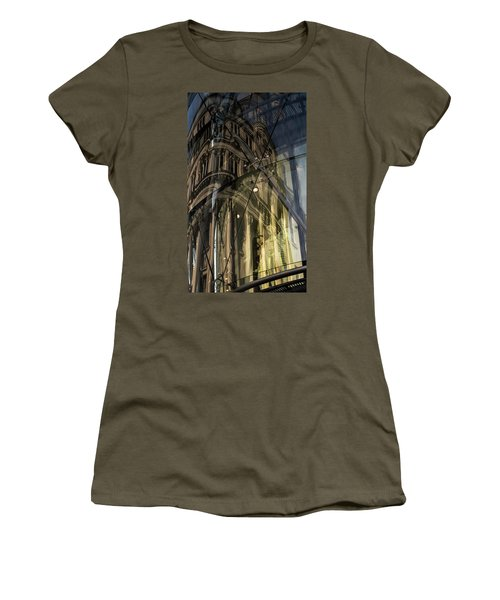 Women's T-Shirt (Athletic Fit) featuring the photograph Emergence by Alex Lapidus