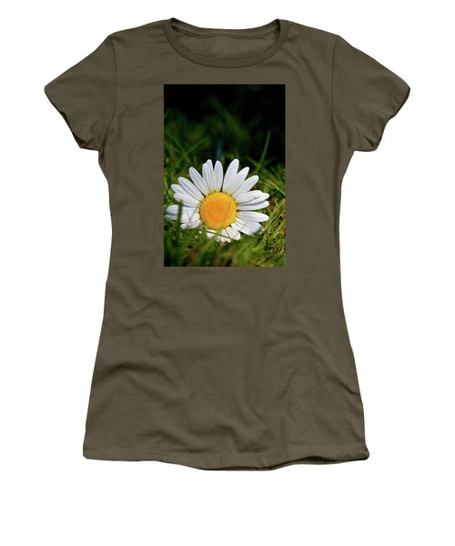 Fallen Daisy Women's T-Shirt (Junior Cut) by Scott Holmes