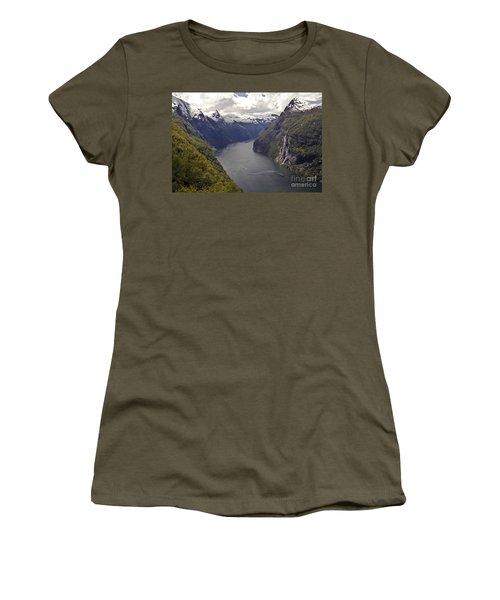 Geiranger Fjord Women's T-Shirt