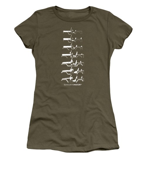 General Purpose Silhouettehistory Women's T-Shirt (Athletic Fit)
