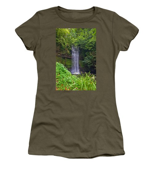 Glencar Waterfall Is Situated Women's T-Shirt