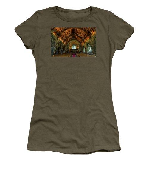 Gods Light Women's T-Shirt (Junior Cut) by Ian Mitchell