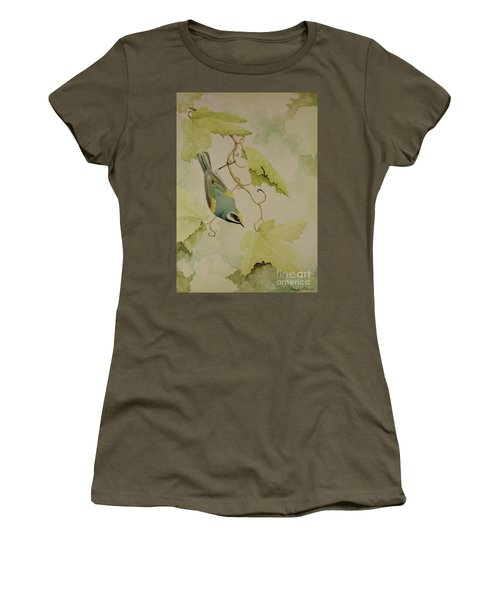 Golden-winged Warbler Women's T-Shirt