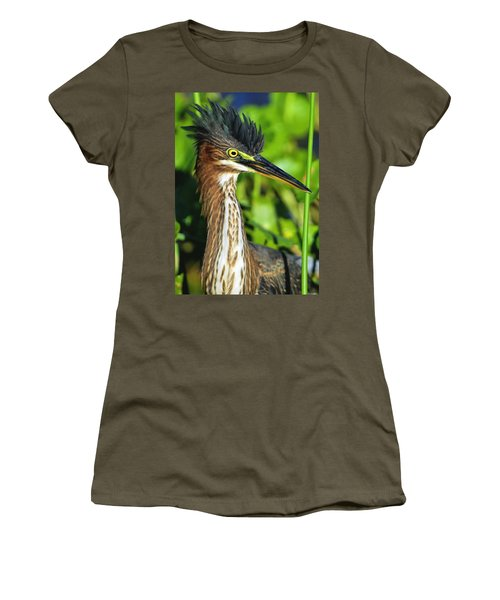 Green Heron  Women's T-Shirt