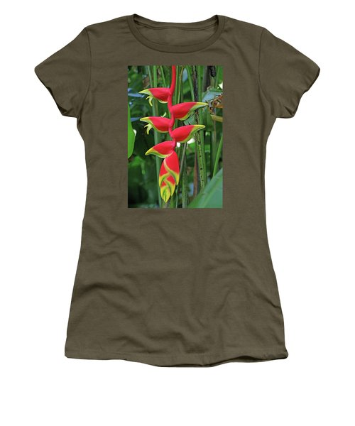 Hawaii Flora Women's T-Shirt (Athletic Fit)