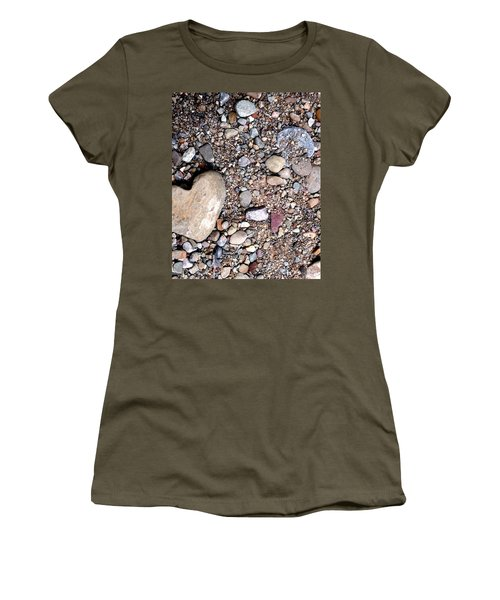 Heart Of Stone Women's T-Shirt (Junior Cut) by Danielle R T Haney