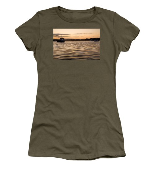 Women's T-Shirt (Junior Cut) featuring the photograph Irish Dusk by Ian Middleton