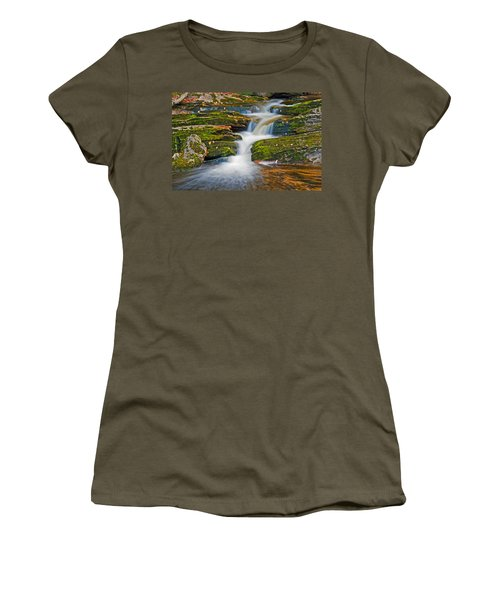 Kent Falls Women's T-Shirt (Athletic Fit)