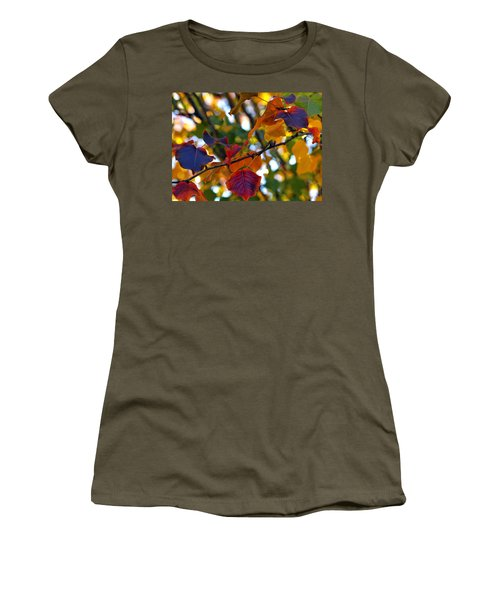 Leaves Of Autumn Women's T-Shirt (Junior Cut) by Stephen Anderson
