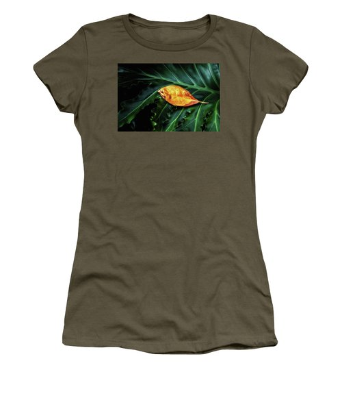 Women's T-Shirt (Junior Cut) featuring the photograph Life Cycle Still Life by Tom Mc Nemar