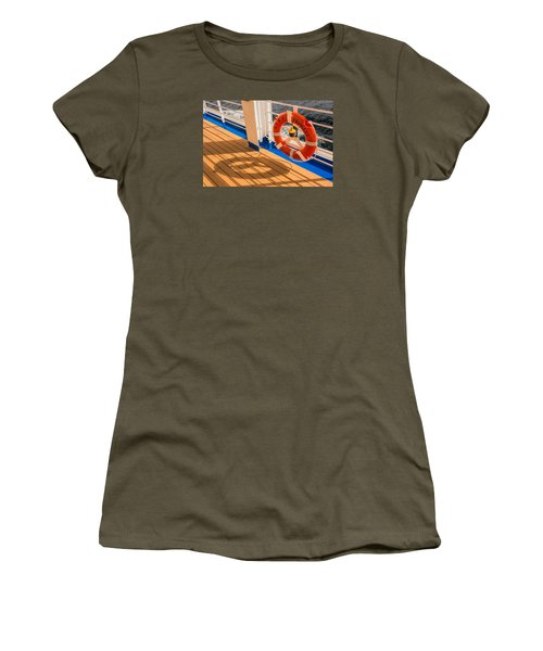 Life Saver Women's T-Shirt (Junior Cut) by Lewis Mann
