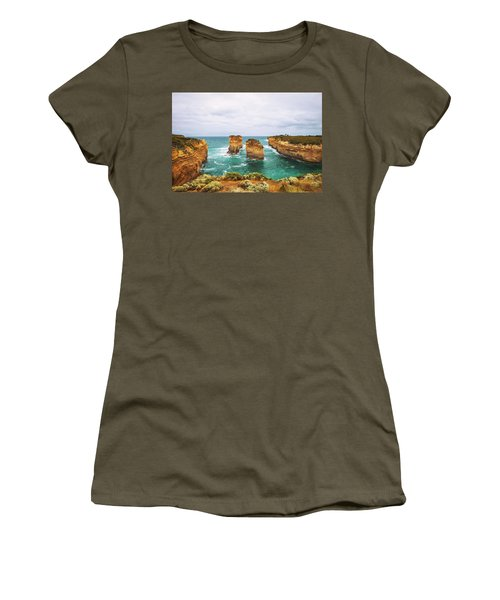 Loch Ard Gorge  In Victoria, Australia, Near Port Campbell Women's T-Shirt