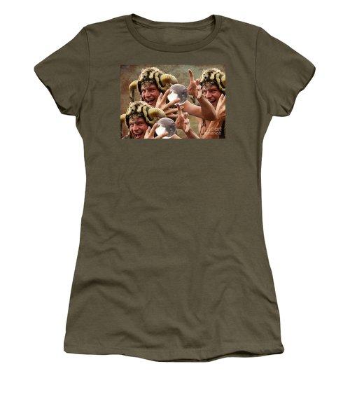 Magic Man Women's T-Shirt (Junior Cut) by Bob Christopher