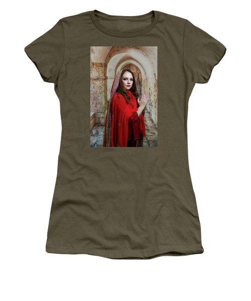 Mary Magdalene Women's T-Shirt (Junior Cut) by David Clanton