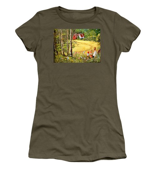 Memories For Mom Women's T-Shirt (Athletic Fit)