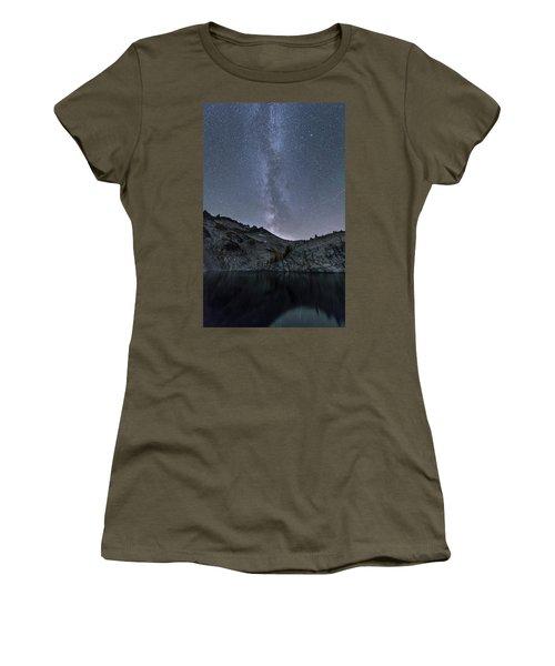 Milky Way At The Enchantments Women's T-Shirt