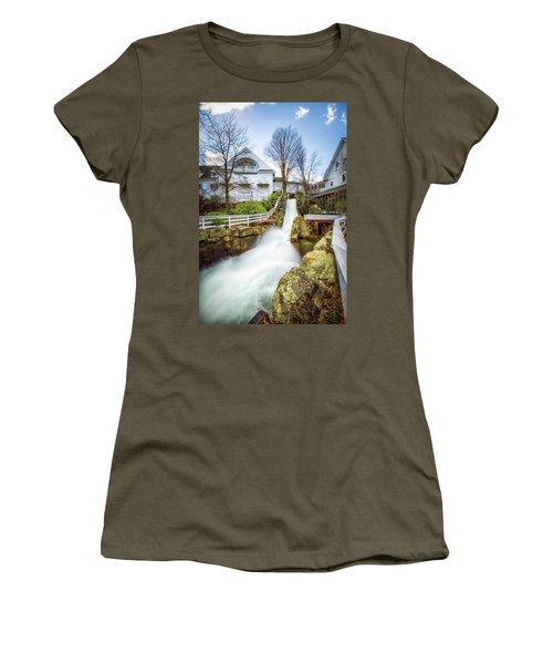 Mill Falls Women's T-Shirt (Junior Cut) by Robert Clifford