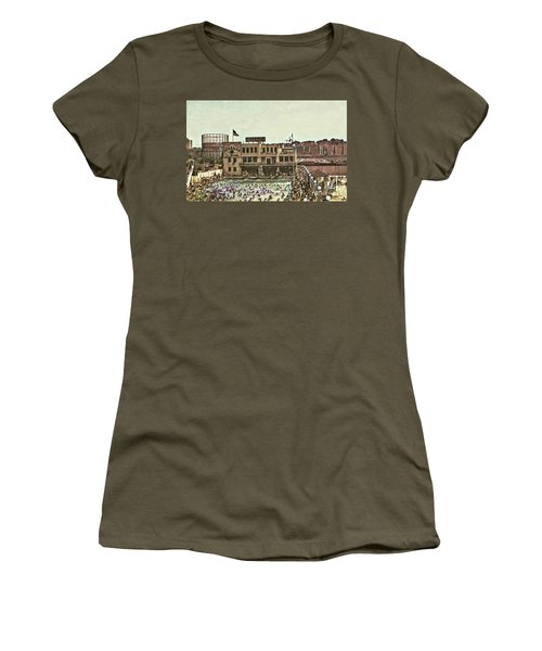 Miramar Saltwater Pool  Women's T-Shirt (Athletic Fit)