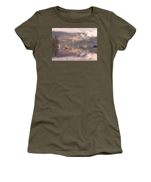 Morning Reflections Of Loch Ness Women's T-Shirt