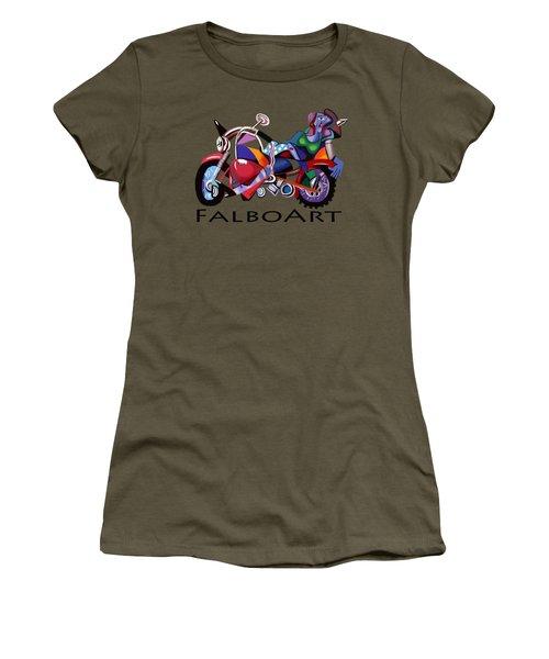Motorcycle Mama Women's T-Shirt