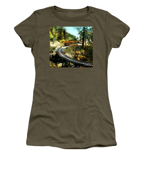 Mount Tamalpais Railway In The 1890s California Women's T-Shirt (Athletic Fit)