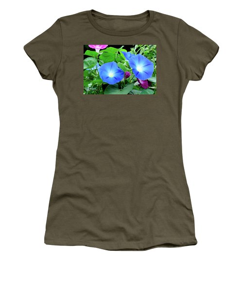 My Morning Glory Women's T-Shirt (Athletic Fit)