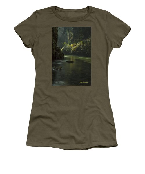 Mystical Canyon Signed Women's T-Shirt
