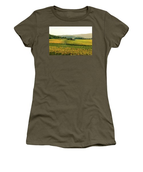 Napa Valley California In Autumn Women's T-Shirt