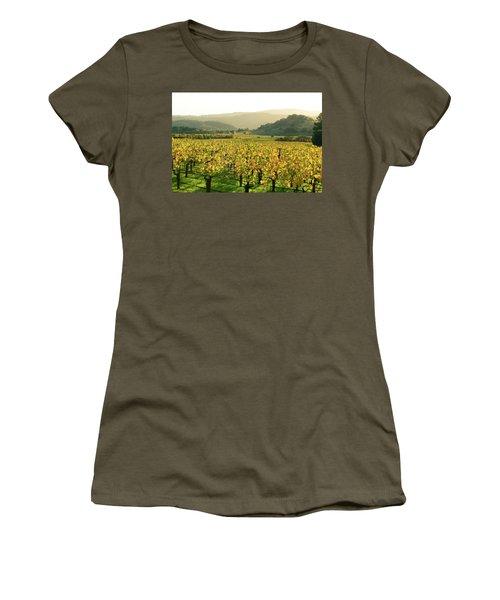 Napa Valley In Autumn Women's T-Shirt