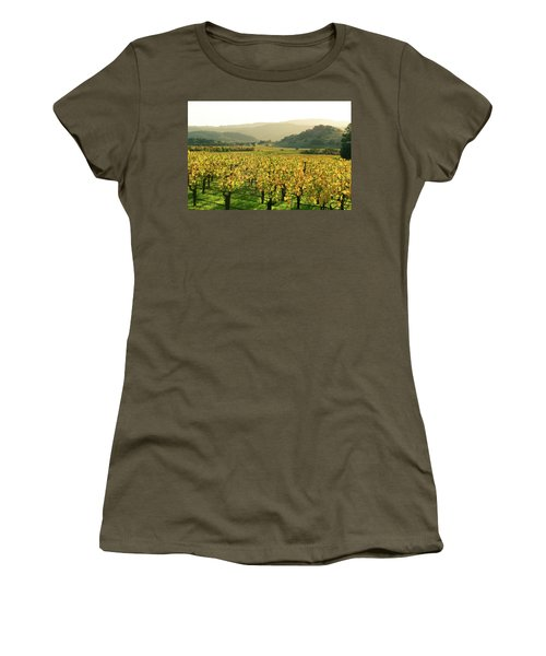 Napa Valley In Autumn Women's T-Shirt