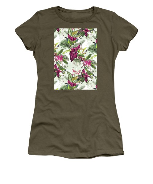 Nicaragua Women's T-Shirt (Junior Cut) by Jacqueline Colley